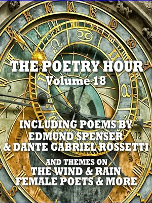 cover image of The Poetry Hour, Volume 18