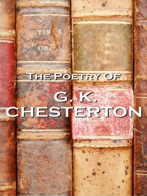 cover image of The Poetry of G. K. Chesterton