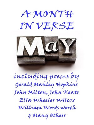 cover image of May, A Month In Verse