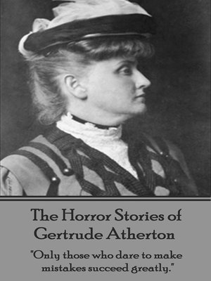 cover image of The Horror Stories of Gertrude Atherton