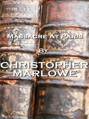cover image of Massacre at Paris