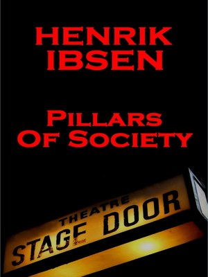 cover image of Pillars of Society