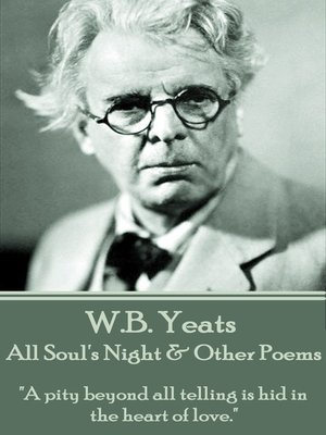 cover image of All Soul's Night & Other Poems