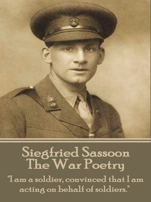 cover image of The War Poetry