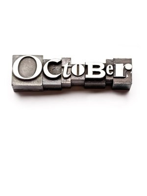 cover image of October, A Month In Verse