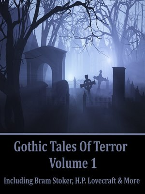 cover image of Gothic Tales of Terror, Volume 1