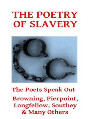 cover image of The Poetry of Slavery