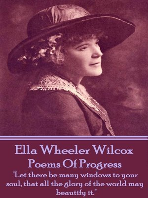 cover image of Poems of Progress