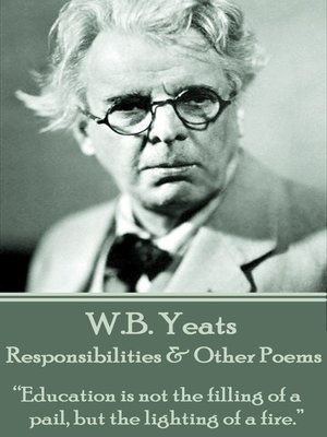 cover image of Responsibilities & Other Poems