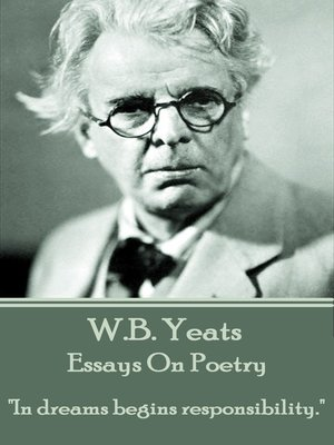 cover image of Essays on Poetry