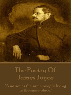 cover image of The Poetry of James Joyce