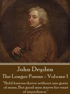 cover image of The Longer Poems, Volume 1