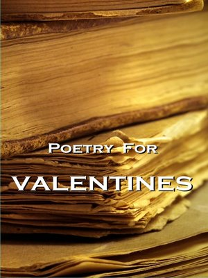 cover image of Poetry for Valentines
