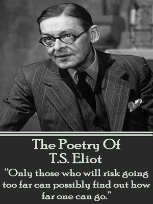 cover image of The Poetry of T. S. Eliot