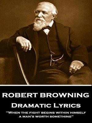 cover image of Dramatic Lyrics