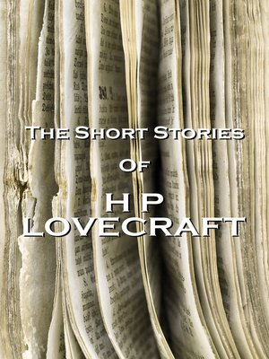 cover image of The Short Stories of HP Lovecraft, Volume 1