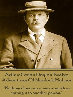 cover image of Twelve Adventures of Sherlock Holmes