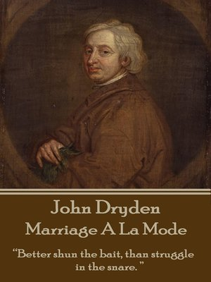 cover image of Marriage A La Mode