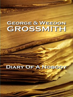 cover image of Diary of a Nobody