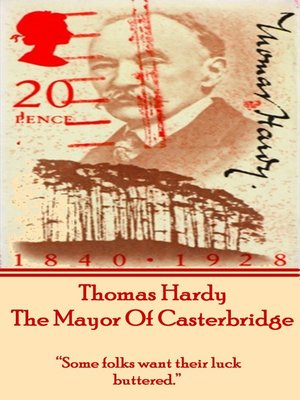 cover image of The Mayor of Casterbridge, by Thomas Hardy
