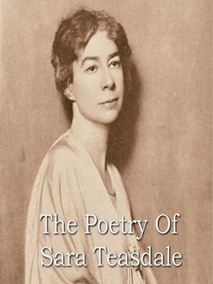 cover image of The Poetry of Sara Teasdale