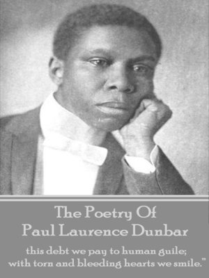cover image of The Poetry of Paul Laurence Dunbar, Volume 1