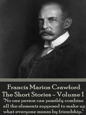 cover image of The Short Stories, Volume 1