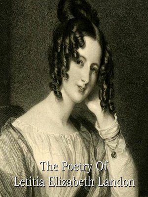 cover image of The Poetry of Letitia Elizabeth Landon