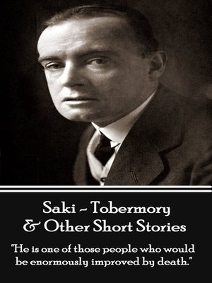 cover image of Tobermory & Other Short Stories