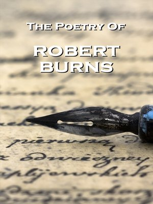 cover image of The Poetry of Robert Burns
