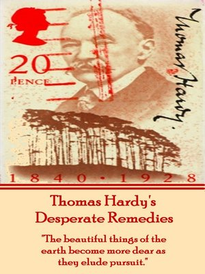 cover image of Desperate Remedies, by Thomas Hardy