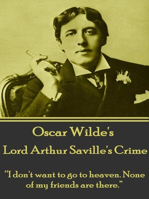 cover image of Lord Arthur Saville's Crime