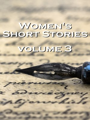 cover image of Women's Short Stories, Volume 3