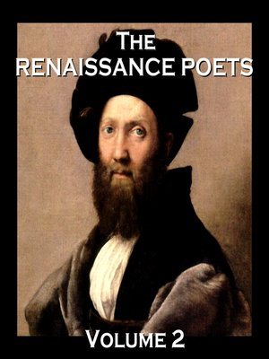 cover image of The Renaissance Poets, Volume 2