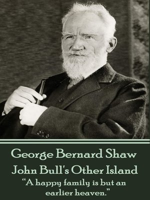cover image of John Bull's Other Island