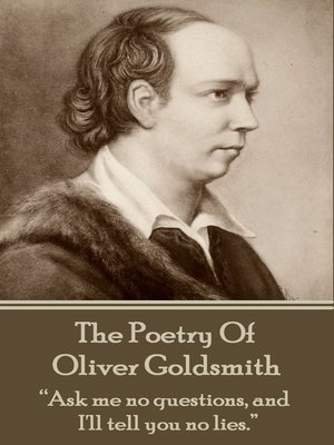 cover image of The Poetry of Oliver Goldsmith
