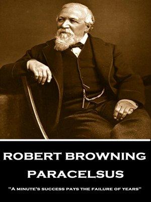 cover image of Paracelsus