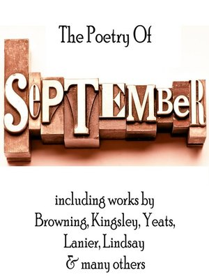 cover image of The Poetry of September