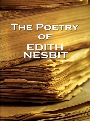 cover image of The Poetry of E. Nesbit