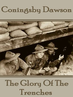 cover image of The Glory of the Trenches