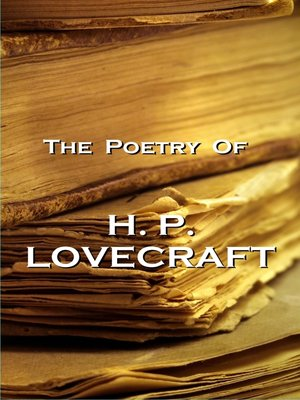 cover image of The Poetry of H. P. Lovecraft