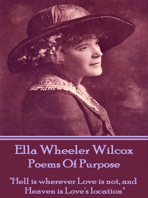 cover image of Poems of Purpose