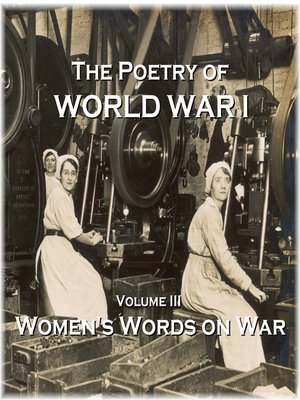 cover image of The Poetry of World War I, Volume III