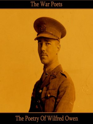 cover image of The Poetry of Wilfred Owen