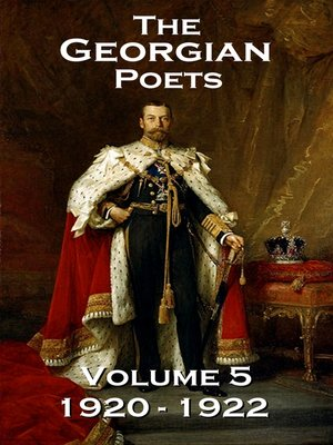 cover image of The Georgian Poets, Volume 5