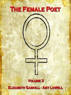cover image of The Female Poet, Volume 3