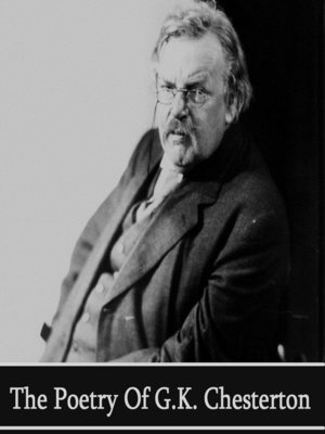 cover image of The Poetry of G.K. Chesterton
