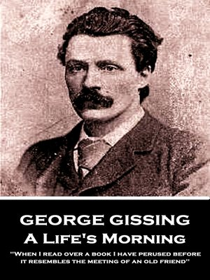 cover image of A Life's Morning