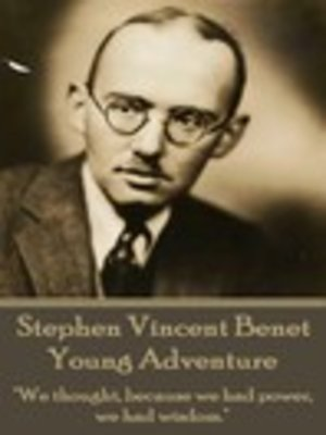 cover image of The Poetry of Stephen Vincent Benet
