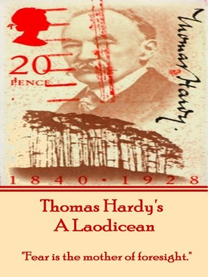 cover image of A Laodicean, by Thomas Hardy